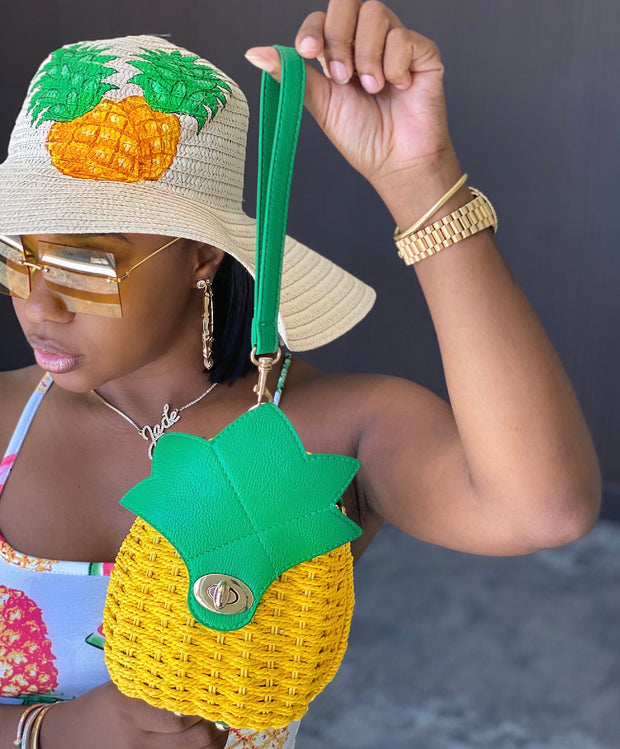 Pineapple : Floppy Hat