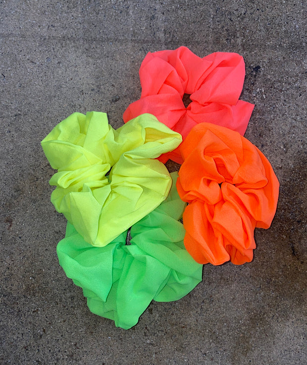 Neon Scrunchie Set