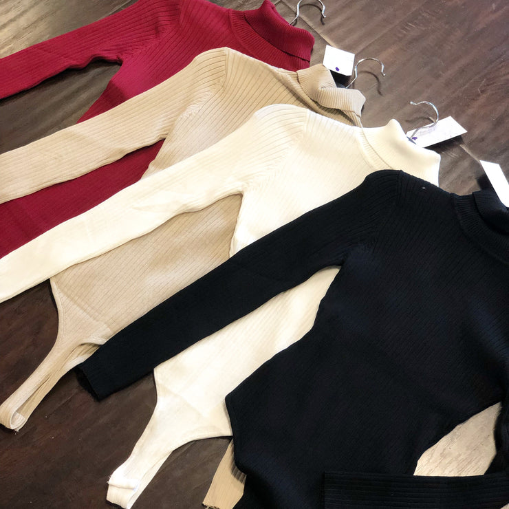 BAEsics: Turtleneck Bodysuit