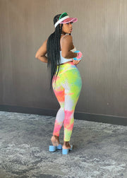 Booty Pop : Tie Dye Leggings