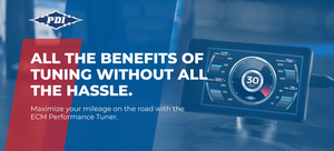 Maximize your road mileage with the ECM Performance Tuner.
