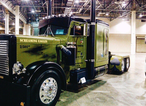 Screaming Eagle Outlaw Customs Truck Peterbilt