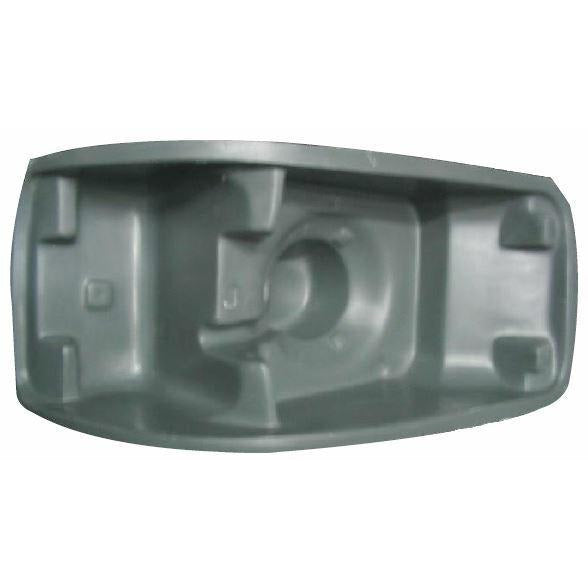Side Lamp Lens For A 1988 - 1997 Volvo Wia Es, Wca Aero, Wia Int Aero, Slp, Yellow Lens For The Left Side.