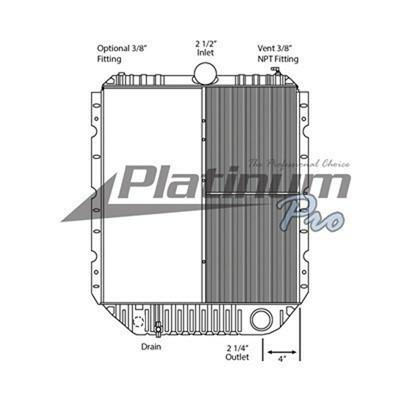 INTERNATIONAL 4900 RADIATOR ASSEMBLY