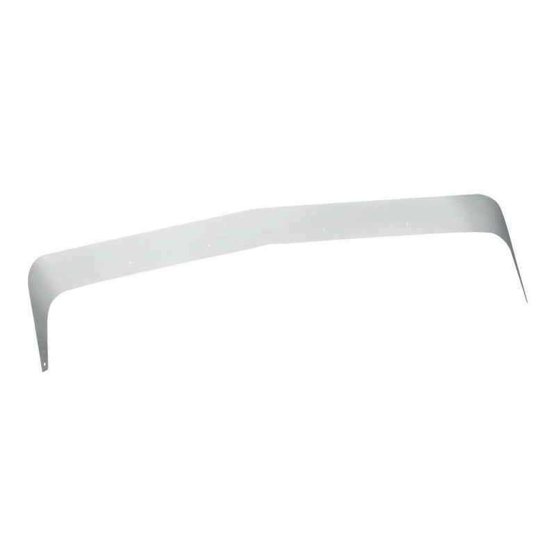 Fender Guard - Stainless Steel - Kenworth T800 2007+ Curved Glass Models - Includes Hardware - Sold In Pair