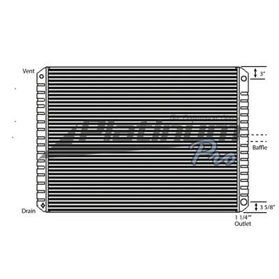 FORD LTL9000 RADIATOR ASSEMBLY