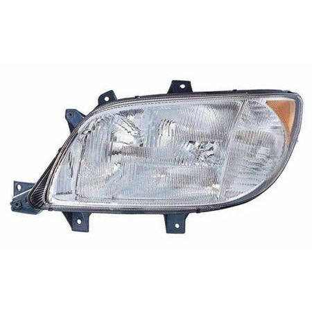 Headlamp Assembly For A 2003 - 2006 Freightliner Sprinter Without Fog Lamps For The Right Side.
