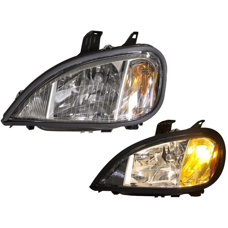 Headlamp Assembly For A 1996 - 2004 Freightliner Columbia For The Left Side.