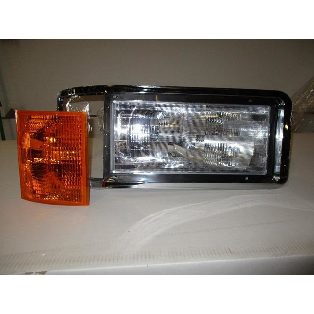 MACK CH612 HEADLAMP ASSEMBLY AND COMPONENT
