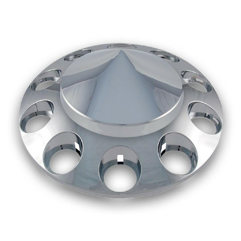 Indy Style- High Luster Polished Inside- Rear Outer- 22.5D X 8.25W- Bolt Pattern 10 X 285.75- GVW Rating 8080