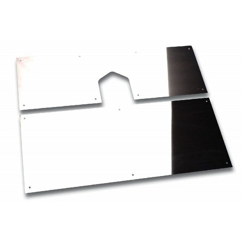 Battery Box/Tool Box Panels - Stainless - Peterbilt 388--389 2007-18 - Covers OEM Fronts - Incudes Hardware