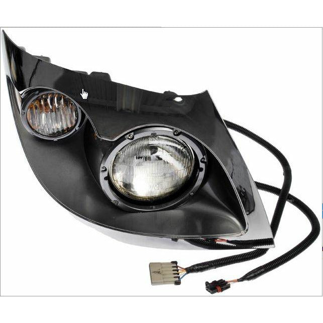 INTERNATIONAL 7300 HEADLAMP ASSEMBLY AND COMPONENT