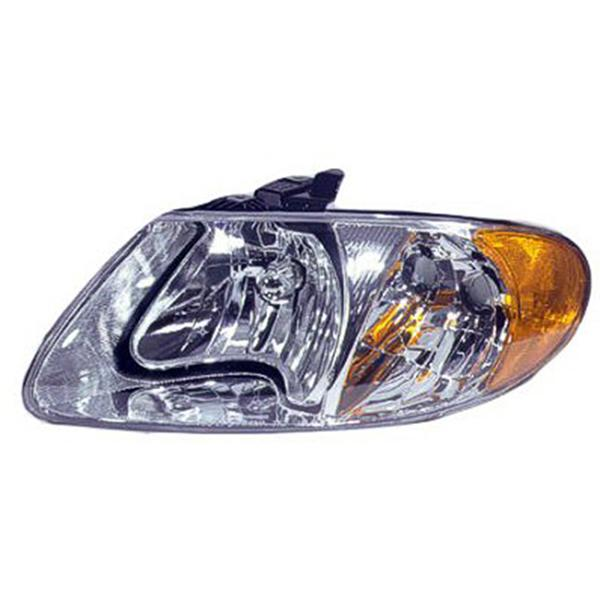 DODGE CARAVAN HEADLAMP ASSEMBLY AND COMPONENT
