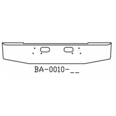 FORD L800 BUMPER ASSEMBLY - FRONT