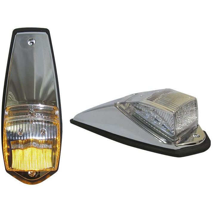 Slim Flatline Marker Light -  Amber LED (24 Diodes) - 17L X 1W