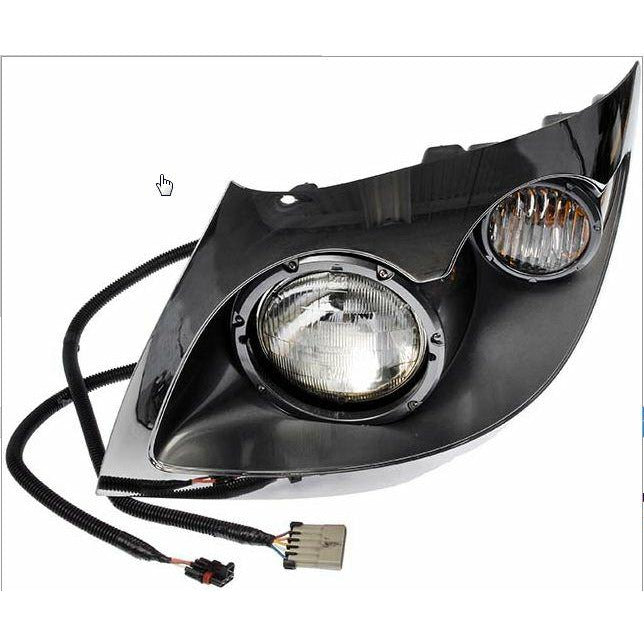HEADLIGHT ASM RIGHT- 2001- 2001-19 INTERNATIONAL 7300, 7300 SBA, 7300 SFA, 7400, 7500, 7600, 7700, CXT, WORKSTAR