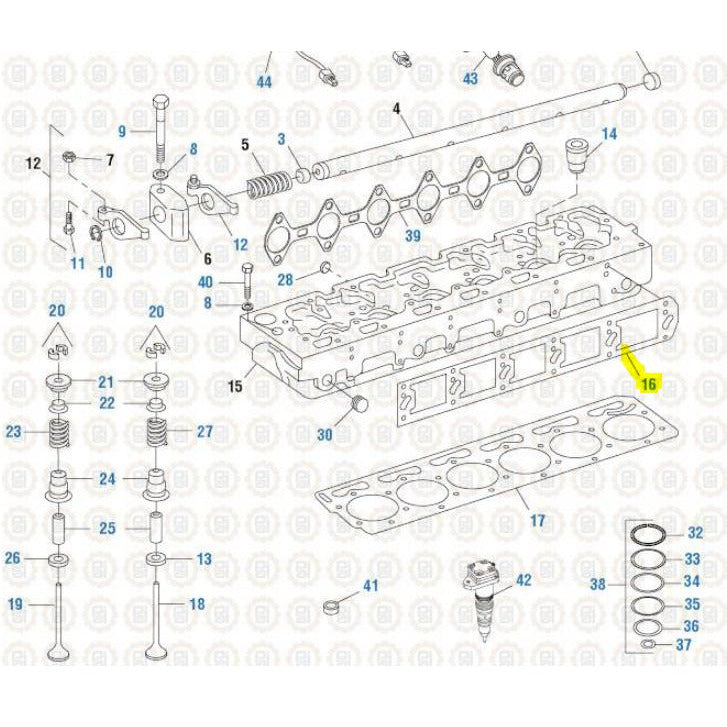 INTERNATIONAL DT466E ENGINE PARTS MISC