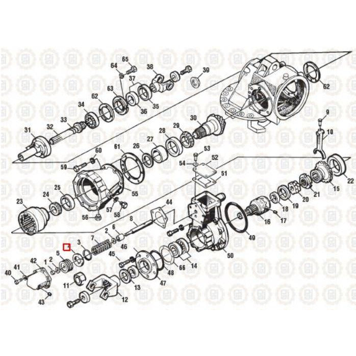 MACK CRDPC95 DIFFERENTIAL PARTS