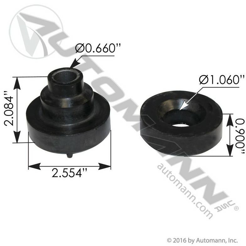 PETERBILT 379 ENGINE MOUNTS - VEHICLE (FRONT)