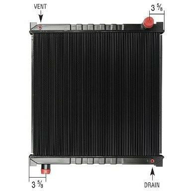 FORD F800 RADIATOR ASSEMBLY