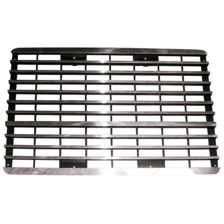 This is a premium aluminum front grille for a Mack CH600.