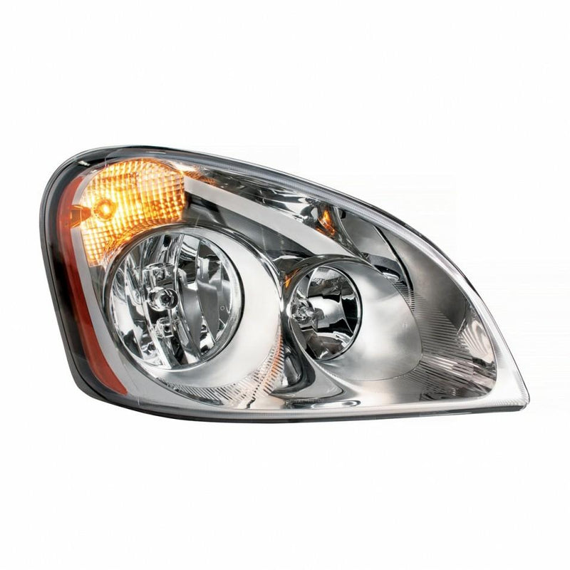 Fog Lamp Assembly For A 2008 - 2015 Freightliner Cascadia For The Left Side, With Driving Lamp.