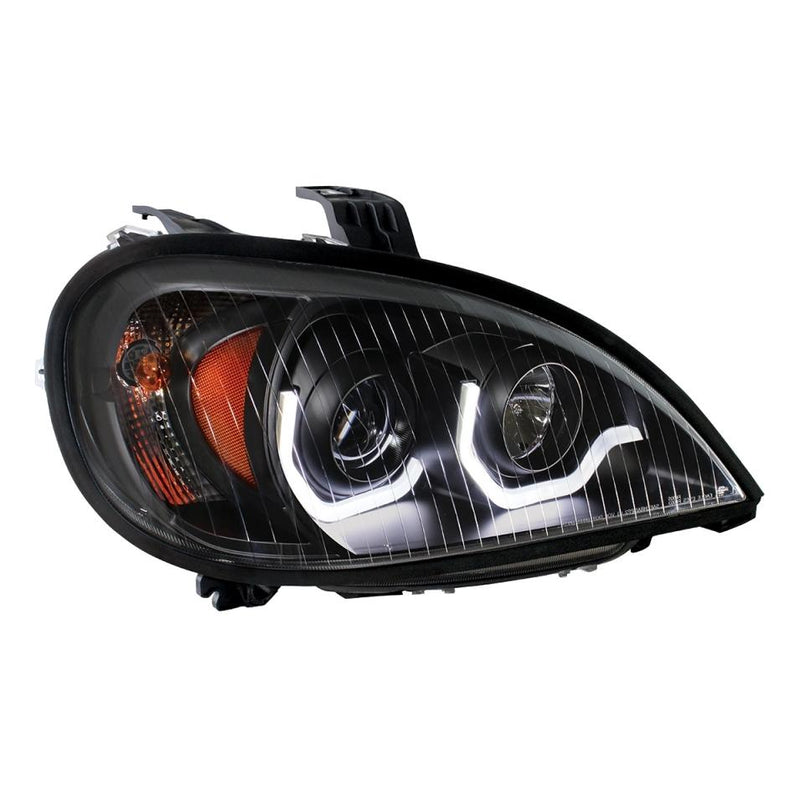 Freightliner Columbia Blackout Projection Headlamp With LED Position Light - Driver