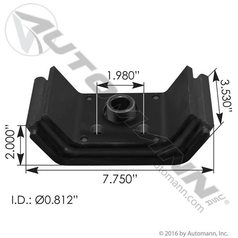 KENWORTH T600 ENGINE MOUNTS - VEHICLE (FRONT)