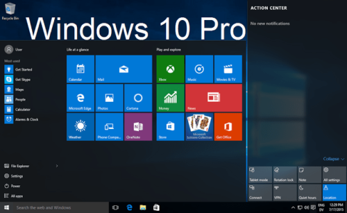 Windows 10 32 & 64bit USB with Windows 10 Pro product key ...