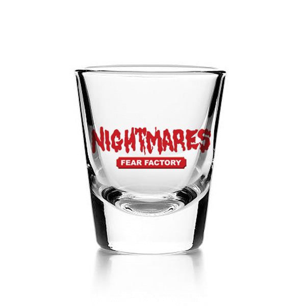 Nightmares Shot Glass