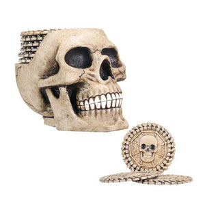Skull Coasters (Includes 6 Coasters)