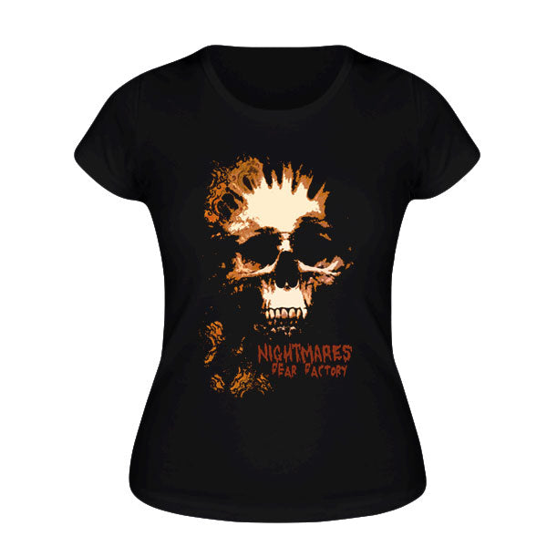 Ladies Wallpaper Skull Tee