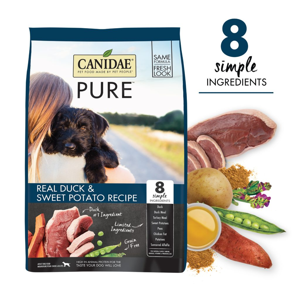 Canidae Grain Free PURE Sky Adult Dog Formula Made with Fresh Duck 4lb
