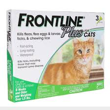 BUNDLE Frontline Plus for Cat 3 doses x 3 boxes = 9 DOSES!!!