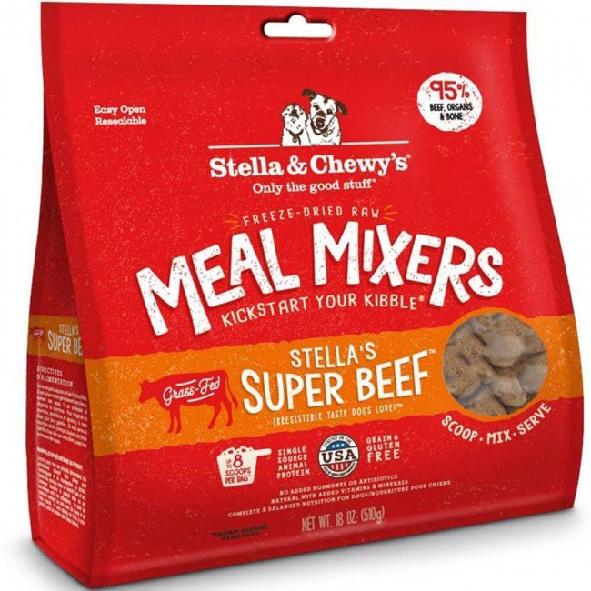 8oz STELLA & CHEWY'S 凍乾加營拌糧牛肉配方 Stella's Super Beef Meal Mixers