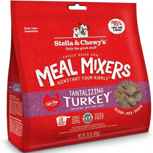 8oz STELLA & CHEWY'S 凍乾加營拌糧火雞配方 Tantilizing Turkey Meal Mixers