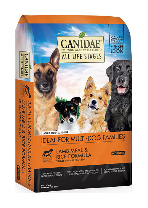 Canidae Dog All Life Stages Lamb, Meal & Rice 15lb