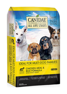 Canidae Dog All Life Stages Chicken, Meal & Rice 15lb