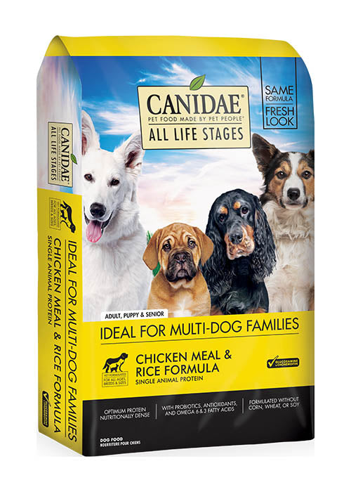 Canidae Dog All Life Stages Chicken, Meal & Rice 5lb