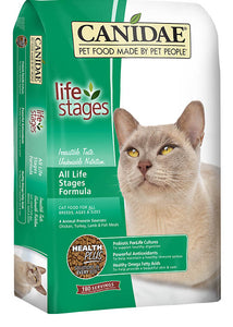 Canidae All Life Stages Cat Food Made with Chicken Turkey Lamb & Fish Meals 15lb