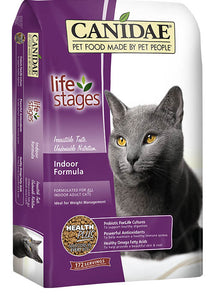 Canidae All Life Stages Cat Food Indoor Adult Cat Food Made with Chicken, Turkey, Lamb & Fish Meals 4lb