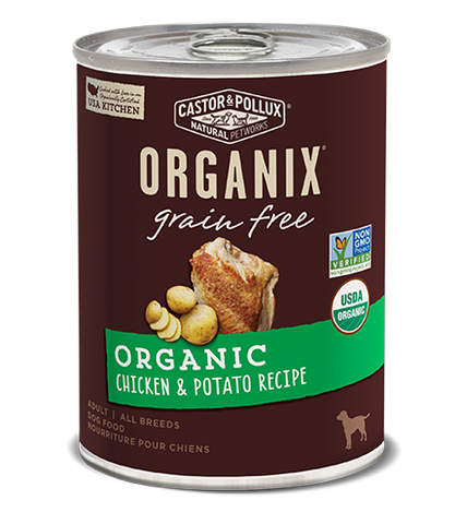 Organix Dog Can Chicken & Potato Recipe 12.7oz x12 -->$26/can!<--