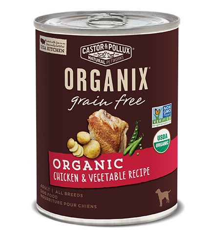 Organix Dog Can Chicken & Vegetable Formula 12.7oz x12 -->$26/can!<--