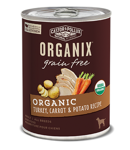 Organix Dog Can Turkey, Carrot & Potato Formula 12.7oz x12 -->$26/can!<--