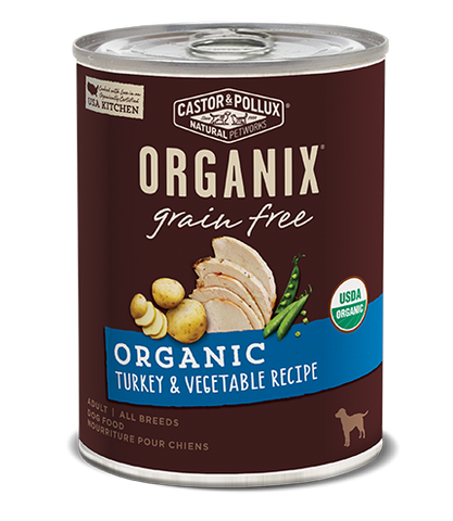 Organix Dog Can Turkey & Vegetable Recipe 12.7oz x12 -->$26/can!<--