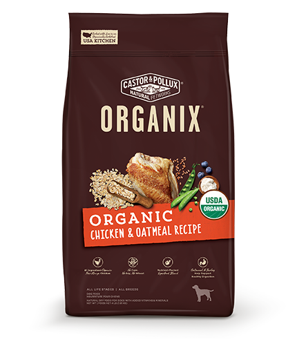 Organix Dog Organic Chicken & Oatmeal Recipe 18lb