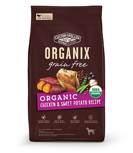 Organix Dog Organic Chicken & Sweet Potato 10lb