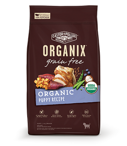 Organix Dog Organic Puppy Recipe 4lb