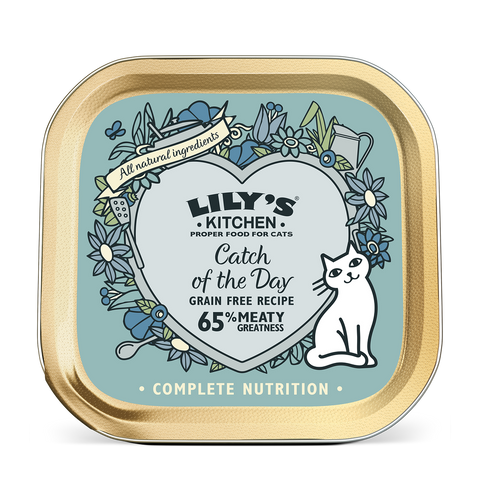 Lily's Kitchen Cat Can Catch of the Day 85g x19 -->$11/can!<--