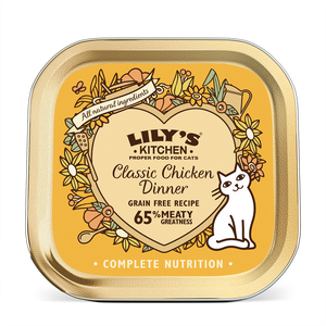 Lily's Kitchen Cat Can Classic Chicken Dinner 85g x19 -->$11/can!<--